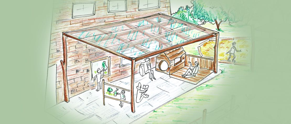 Outdoor Classroom Lean-to
