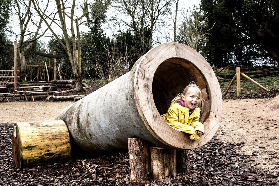 Shugborough wooden play area