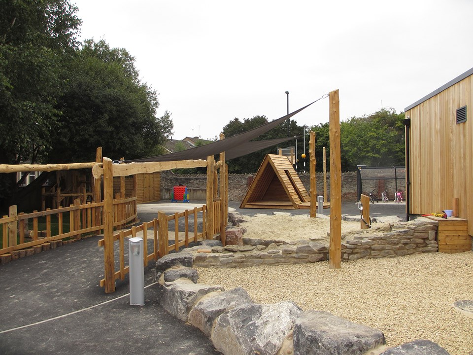 St Werburghs play area sand pit