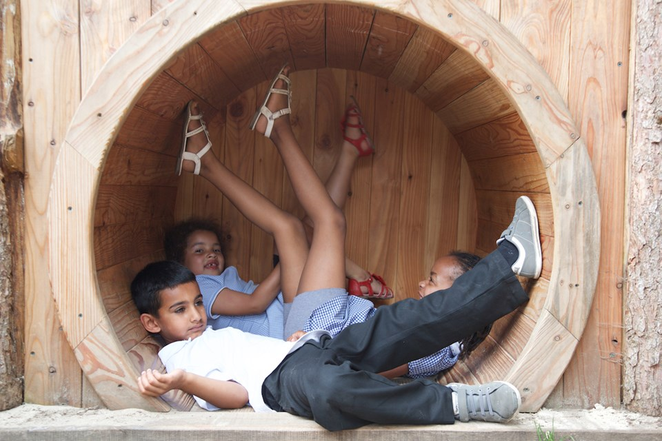 St Werburghs playground tunnel